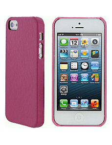 Ultra Slim Leather Shell Case for iPhone 5 by rooCASE