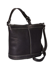 Ti Bucket Hobo by Le Donne Leather