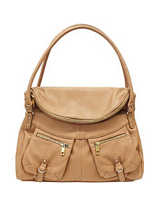 Saskia Flap Satchel by Jessica Simpson