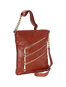 3 Front Zip Crossbody by R & R Collections