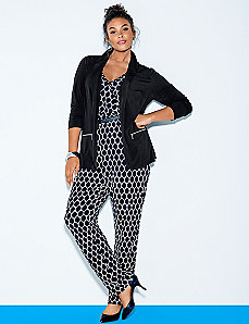 Graphic print jumpsuit
