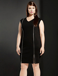 6th & Lane zipped sheath dress