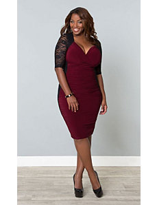 Valentina Illusion Dress by Kiyonna