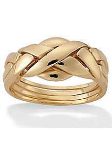 Puzzle Ring by PalmBeach Jewelry