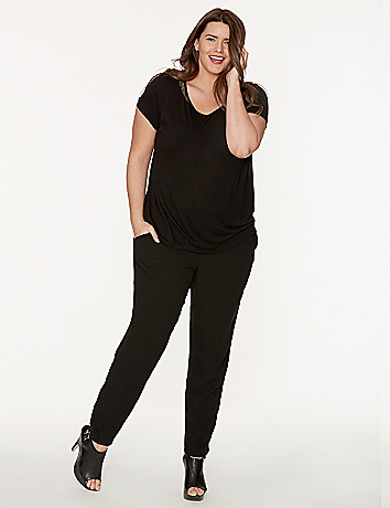Soft track pant by DKNY JEANS