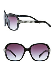 Rhinestone arm sunglasses