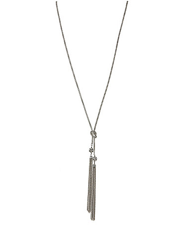 Mesh tassel necklace by Lane Bryant