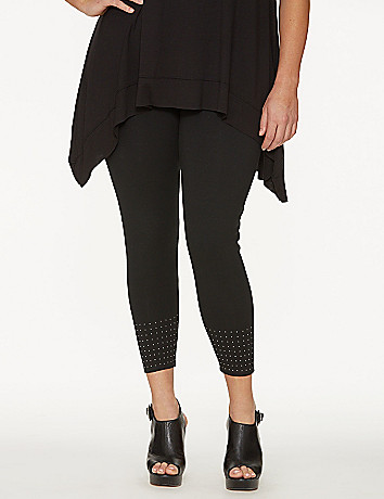 Studded cropped legging by Lysse