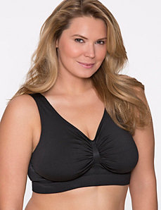 Shape by Cacique No-Wire Shapewear bra