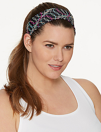 Techno Print Headband by Lane Bryant