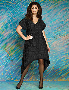 Textured woven dress by Isabel Toledo