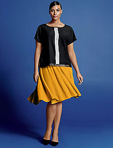 Circle skirt by Isabel Toledo