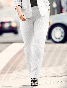 Sophie Tailored Stretch pinstripe pant
