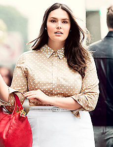 The Perfect Shirt with embellished collar
