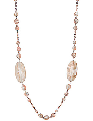 Dusted stone necklace by Lane Bryant