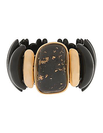 Black & Goldtone Bracelet by Lane Bryant
