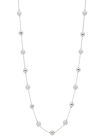 Dusted & solid bead necklace by Lane Bryant