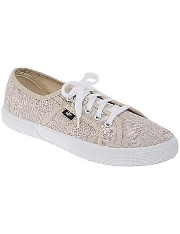 Wide Width LB Kicks Linen Sneaker