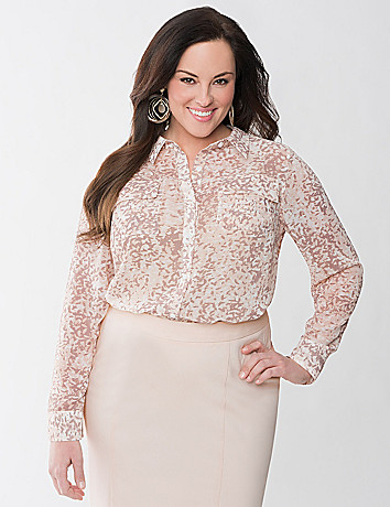 Lane Collection Utility Top by Lane Bryant