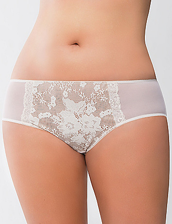 Bold lace hipster panty by Cacique