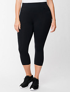 Capri legging with tummy control