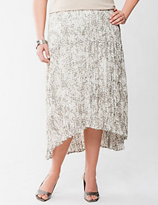 Lane Collection high low skirt