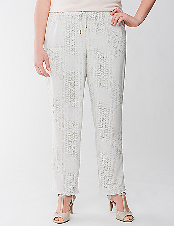 Plus Size Print Pant by Lane Bryant