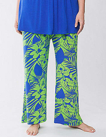 Tru to You palm print sleep pant by Cacique