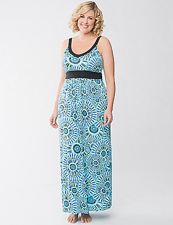 Tru to You mosaic sleep maxi by Cacique