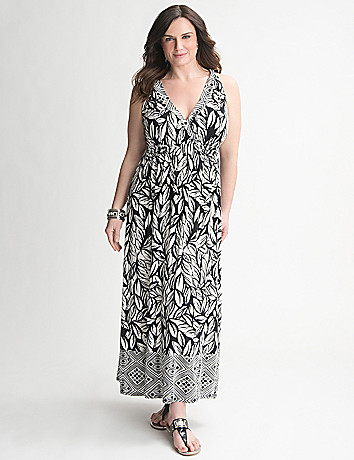 Twist Strap Maxi Dress Plus Size