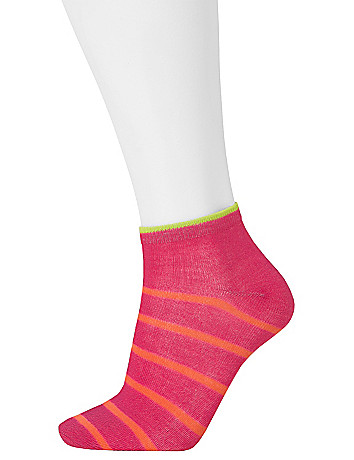 Stripe and solid sport sock 3-pack