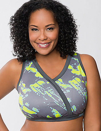 Wrap sport bra by Reebok