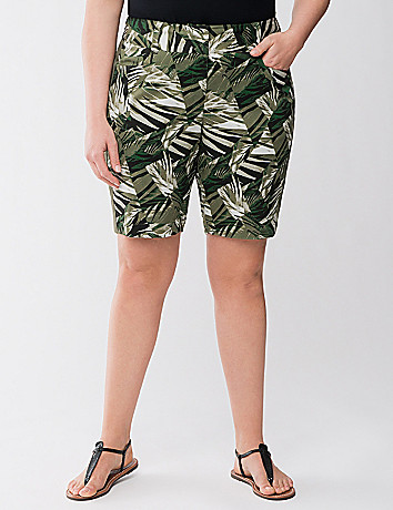 Lane Collection printed Bermuda short