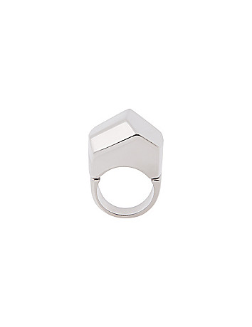 Modern angles dome ring by Lane Bryant