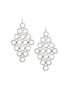 Mini disc waterfall earrings by Lane Bryant