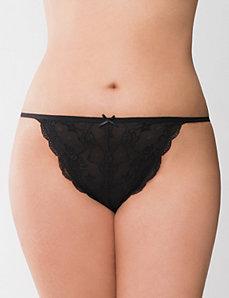 Lace G-string panty