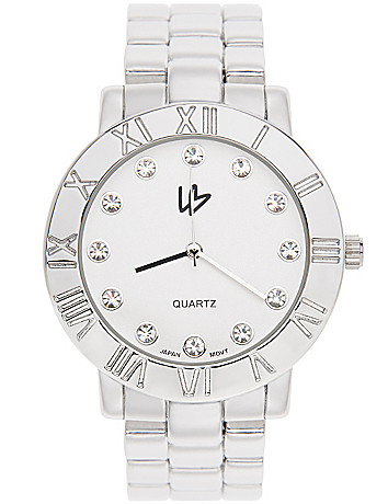 Roman numeral watch by Lane Bryant