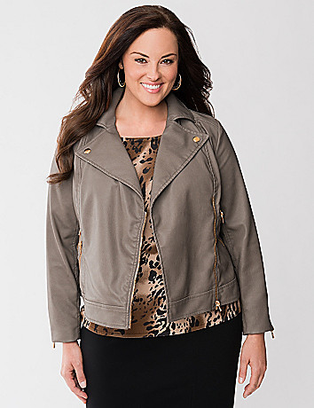 Lane Collection moto jacket