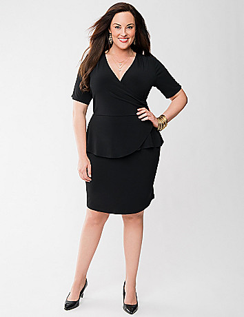 Lane Collection peplum dress