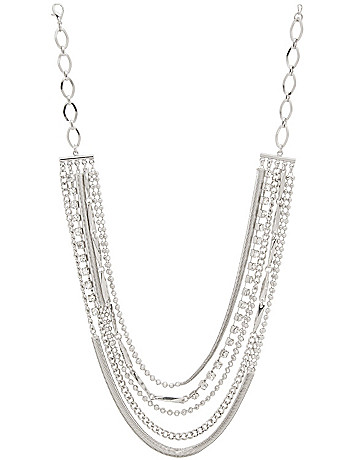 Multi chain necklace by Lane Bryant