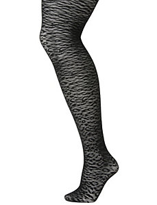 Animal patterned tights