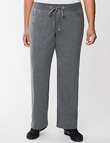 French terry knit pant