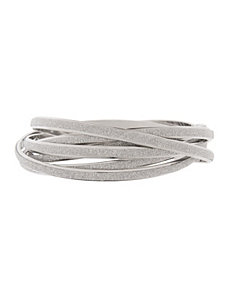 Intertwined bangle bracelets by Lane Bryant