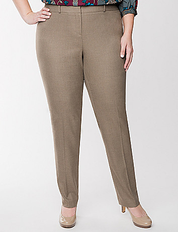 Lena Tailored Stretch straight leg pant