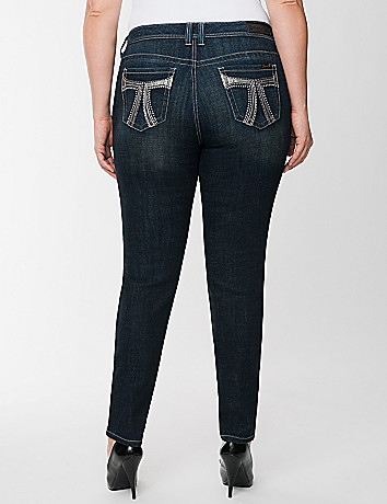 Plus Size Double 7 Skinny Jean by Seven7