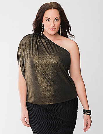 Lane Collection one shoulder top