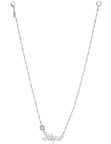 Hope necklace by Lane Bryant