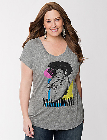 Madonna embellished graphic tee