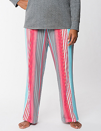 Colorful stripe sleep pant