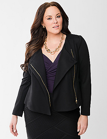 Lane Collection asymmetric jacket